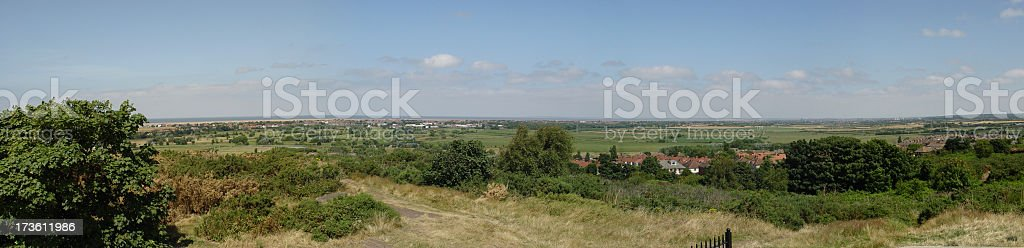 Merseyside Panorama stock photo