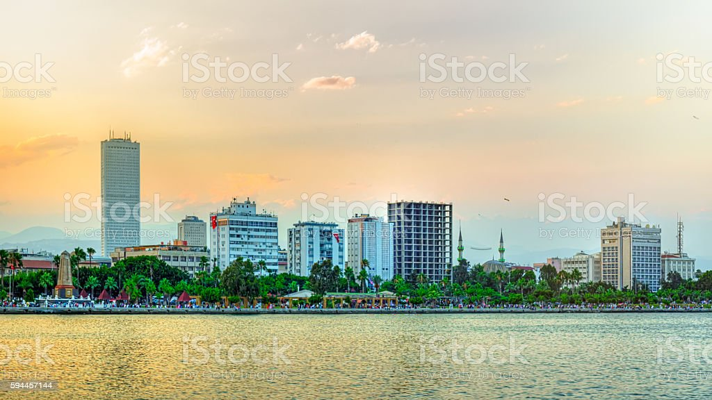 Mersin City in Turkey stock photo