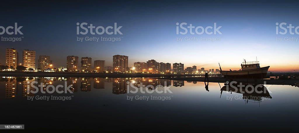 Mersin city ,Turkey stock photo