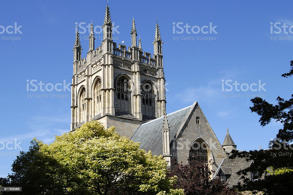 Merton College Chapel. Oxford. England stock photo