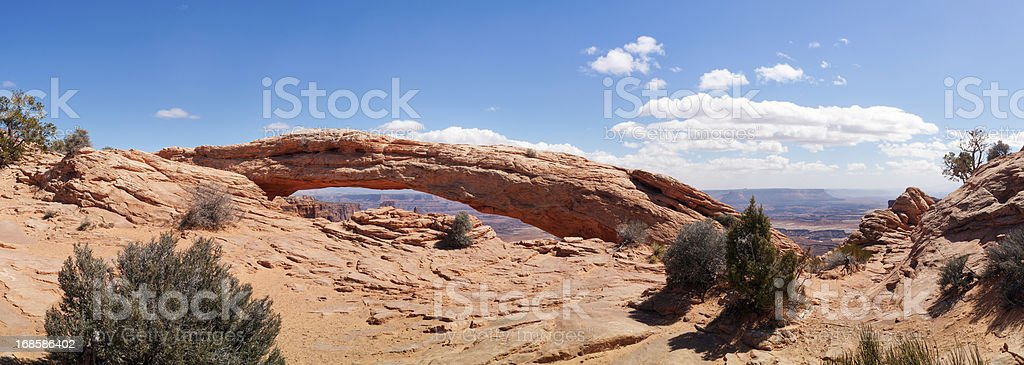 Mesa Arch, Canyonlands, Moab, Utah, USA royalty-free stock photo