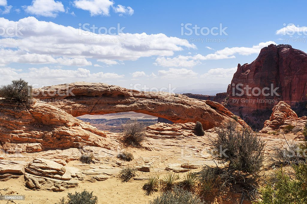 Mesa Arch, Canyonlands, Moab, Utah, USA royalty-free stock photo