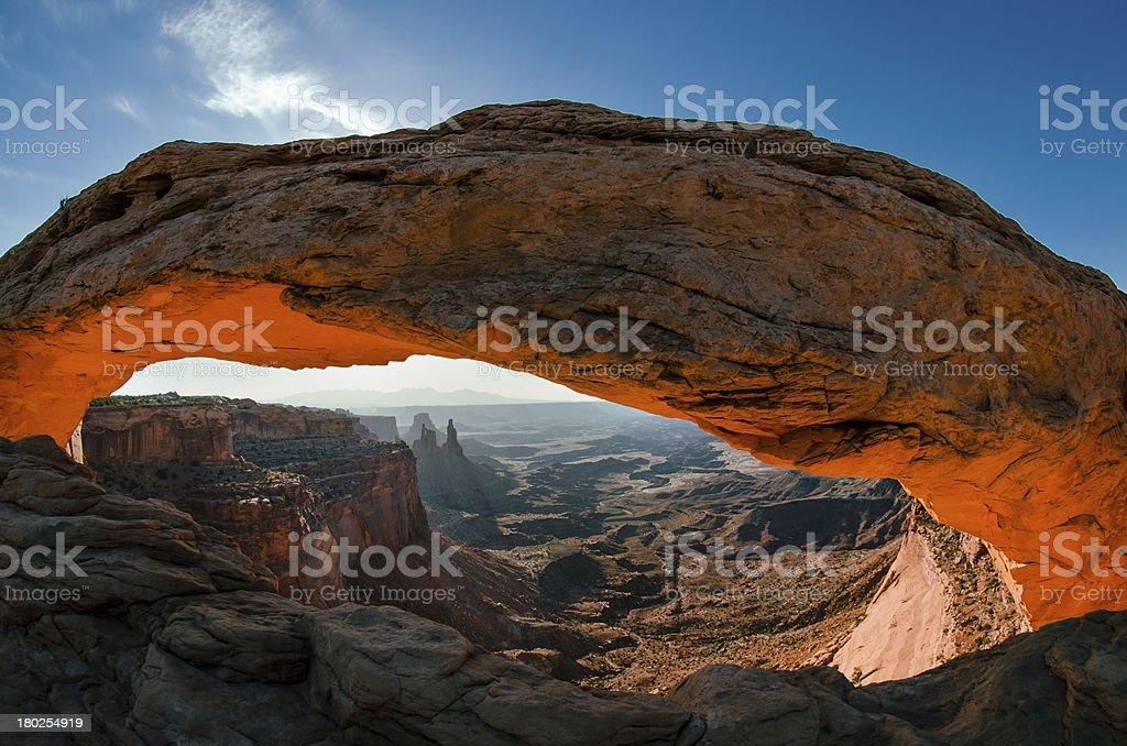 Mesa Arch, Canyonlands National Park, Utah royalty-free stock photo