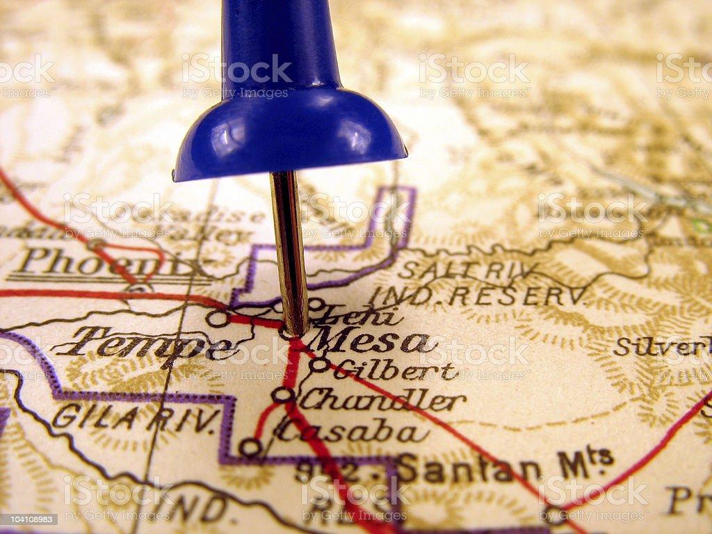 Mesa, Arizona stock photo