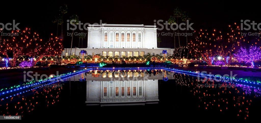 Mesa Mormon Temple royalty-free stock photo