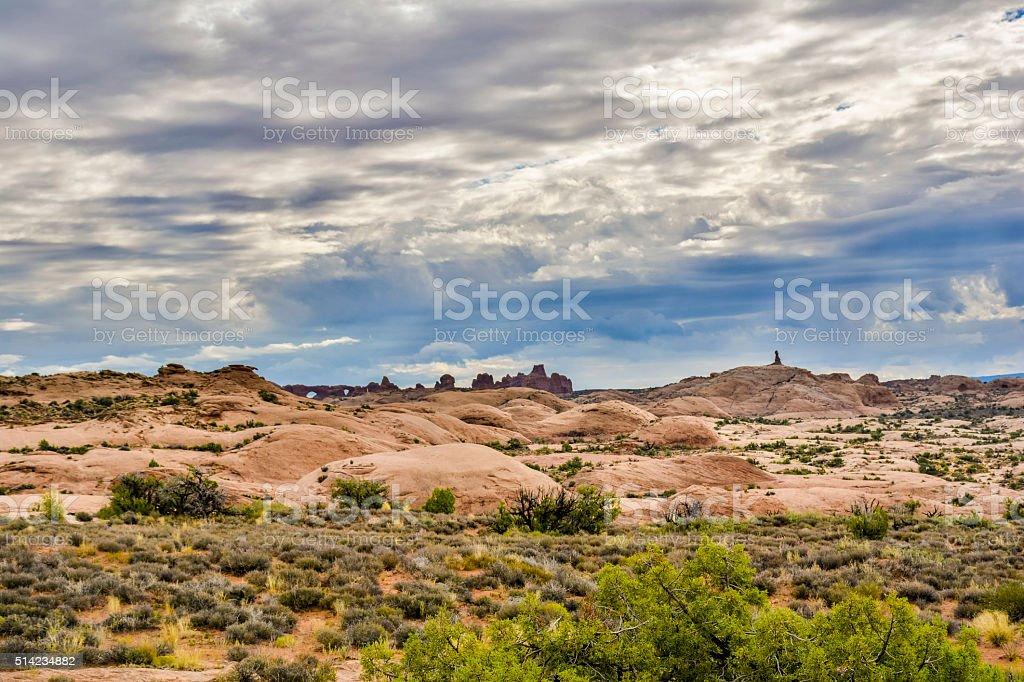 Mesa Rock Formation stock photo