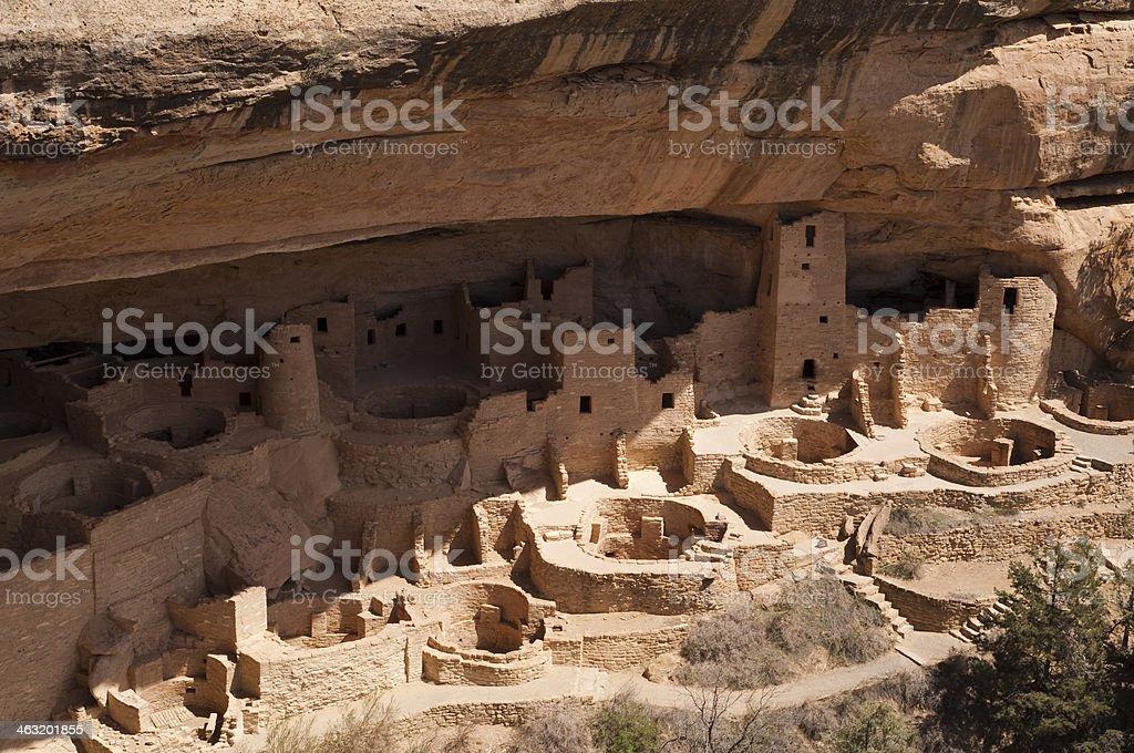 Mesa Verde Dwellings stock photo