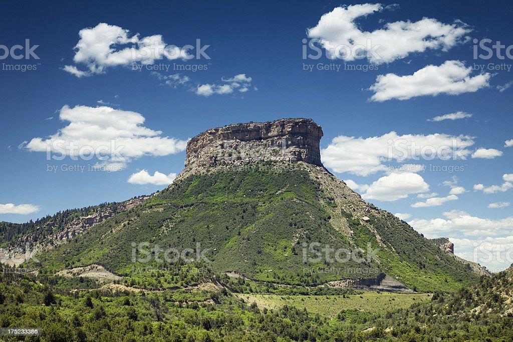 Mesa Verde National Park, Colorado royalty-free stock photo