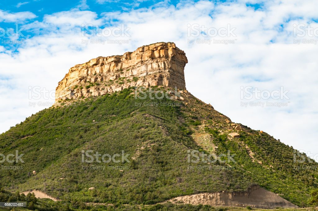 Mesa Verde, National Park, Colorado stock photo