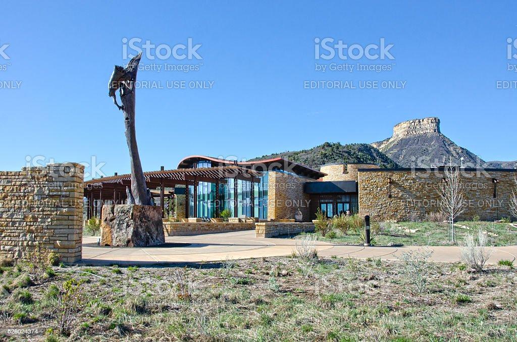 Mesa Verde National Park Headquarters stock photo