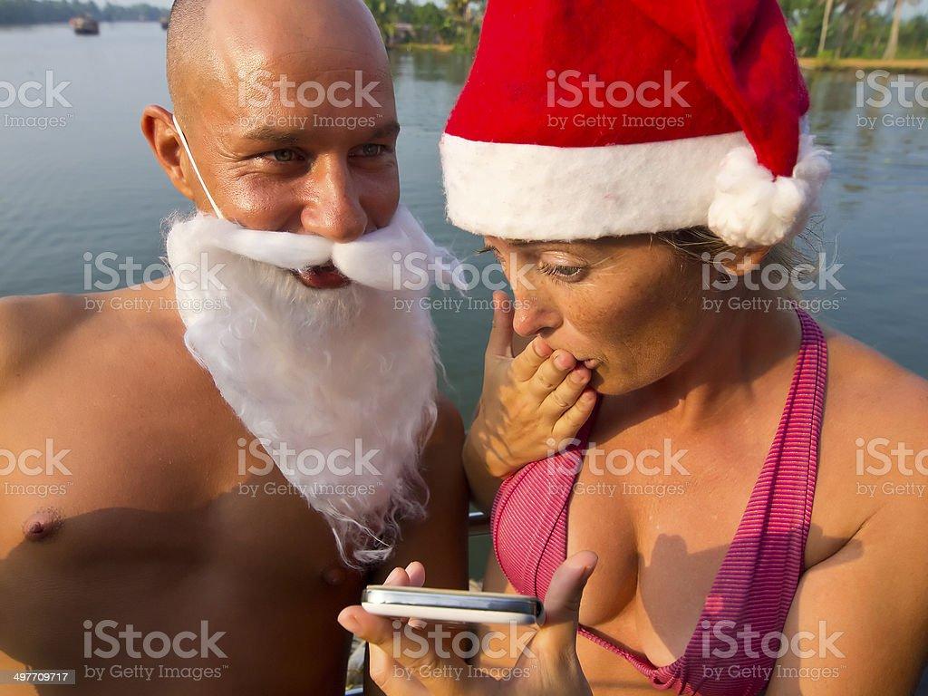 Mesage for Santa royalty-free stock photo