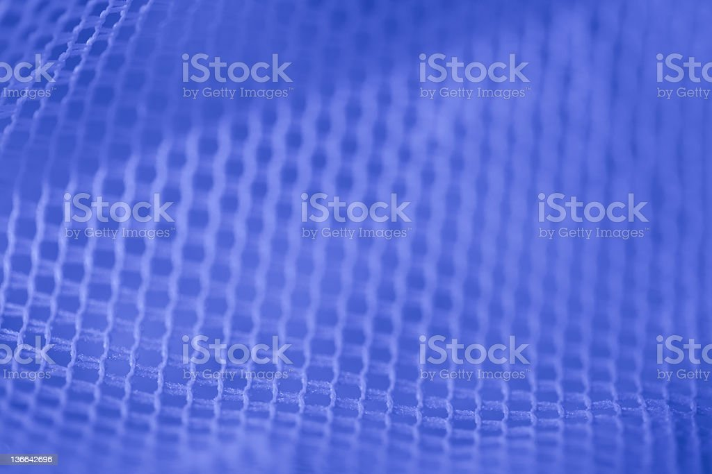 Mesh in blue led light royalty-free stock photo