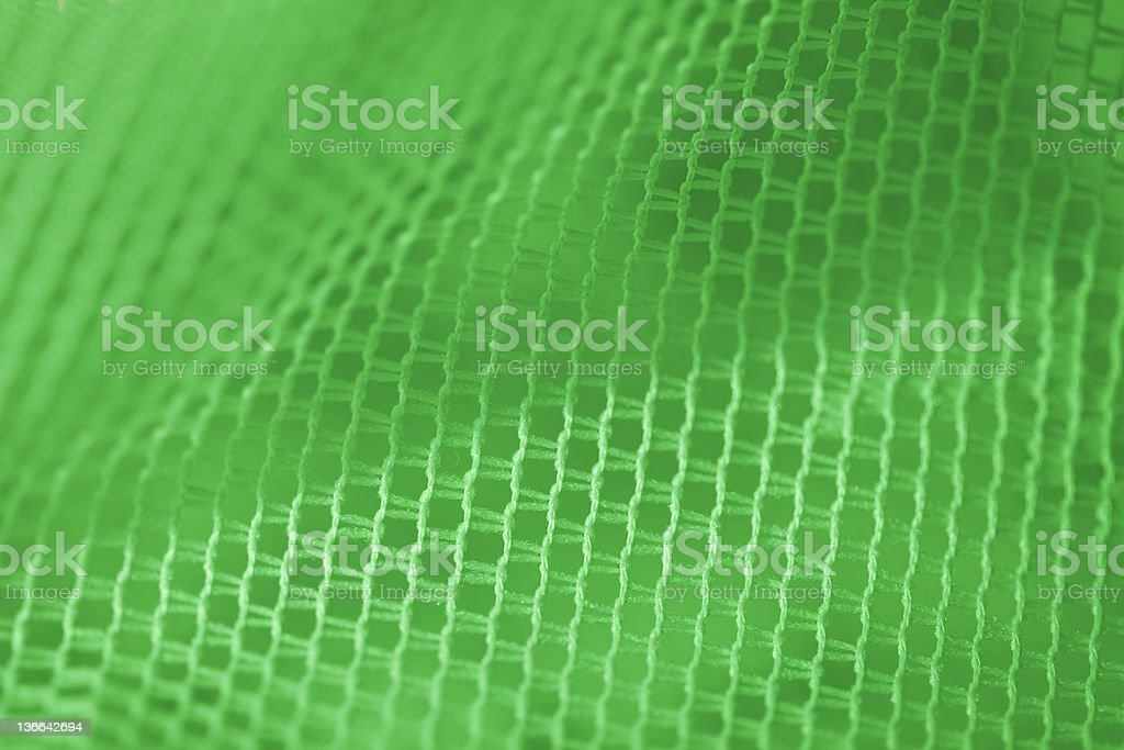 Mesh in green led light royalty-free stock photo