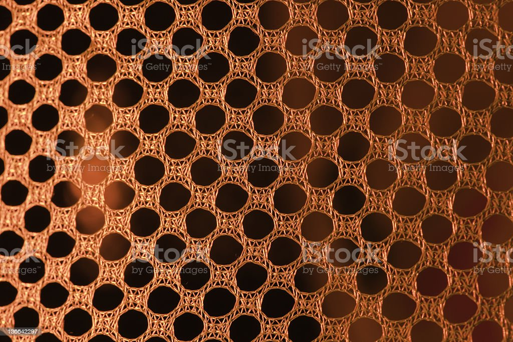 Mesh in led light stock photo
