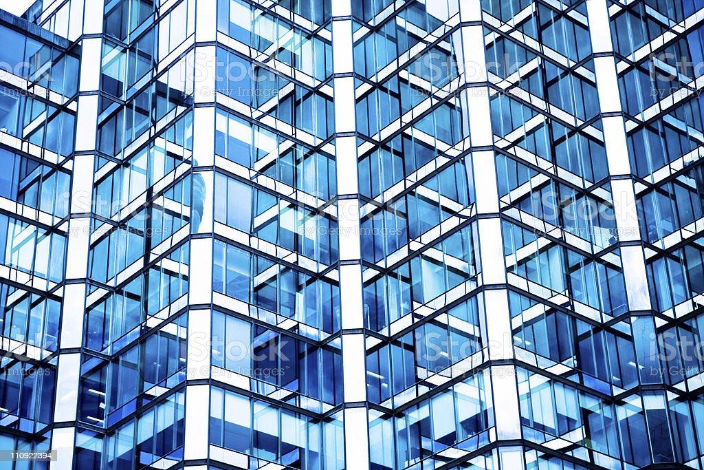 Mesh pattern of modern apartment in Toronto stock photo