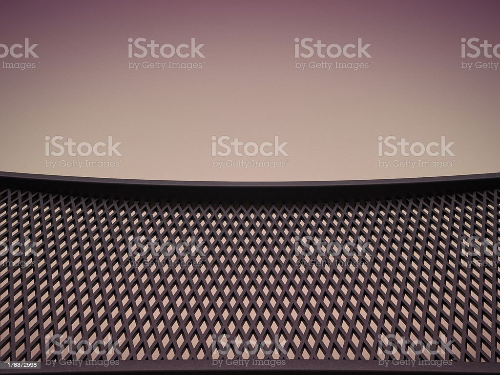 Meshy pattern and leather background stock photo