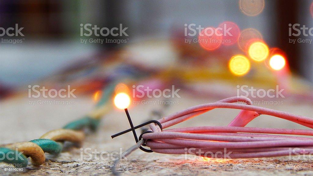 Mesmerizing Bokeh stock photo