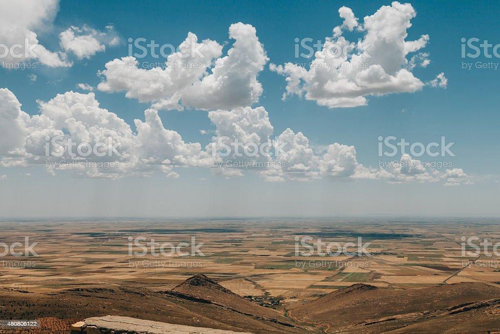 Mesopotamia landscape stock photo