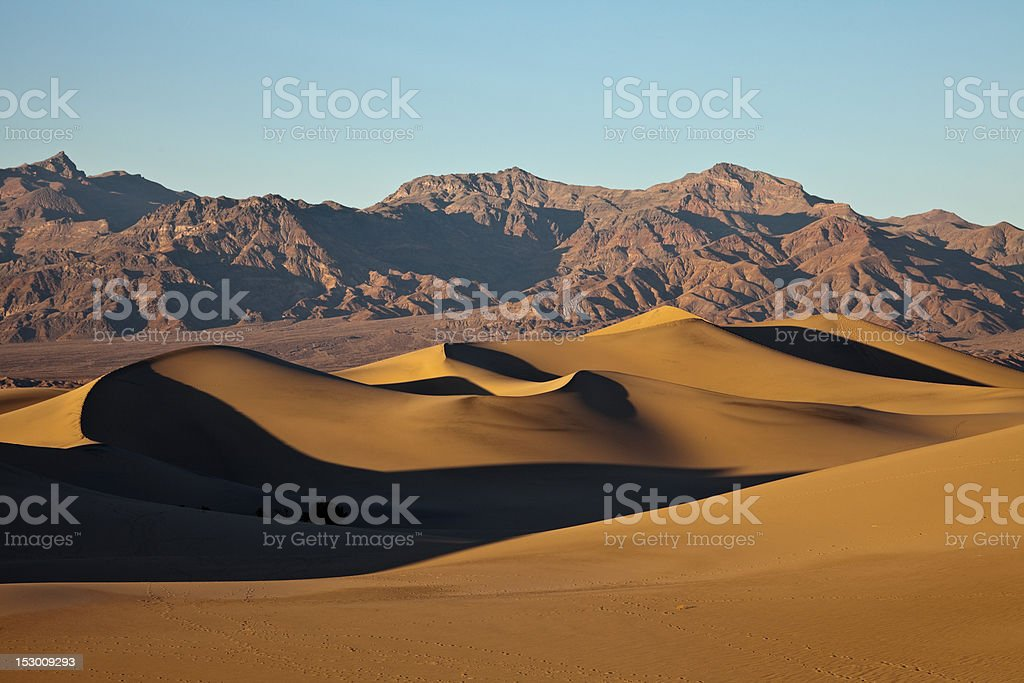 Mesquite Flat Sand Dunes, stock photo
