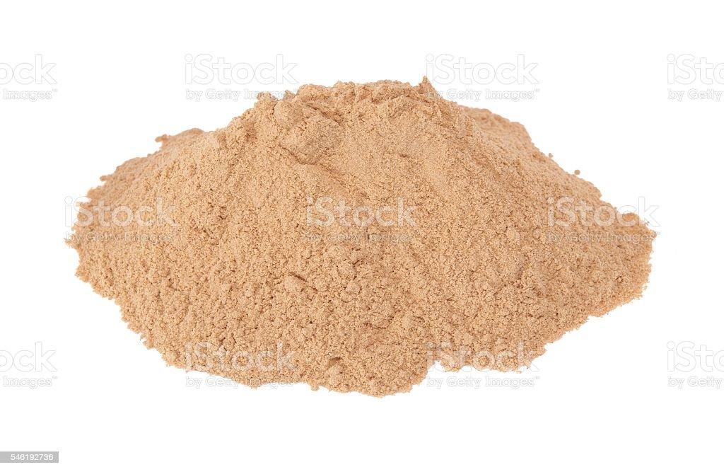 Mesquite powder stock photo