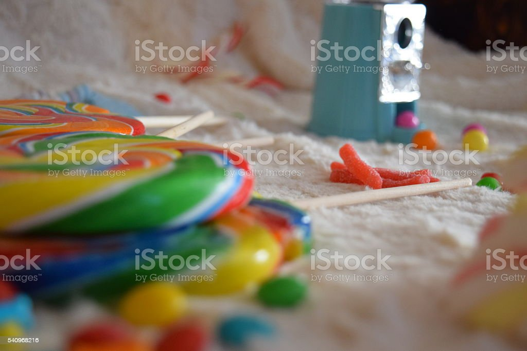Mess of Candy stock photo