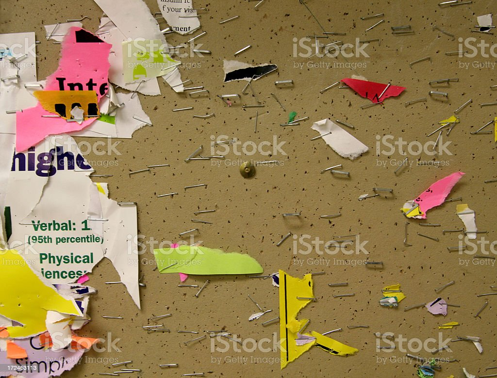Message Board Background royalty-free stock photo