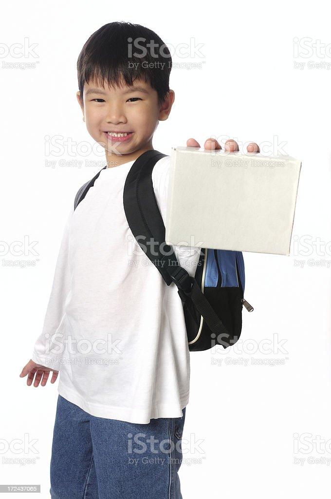 Message Boy royalty-free stock photo
