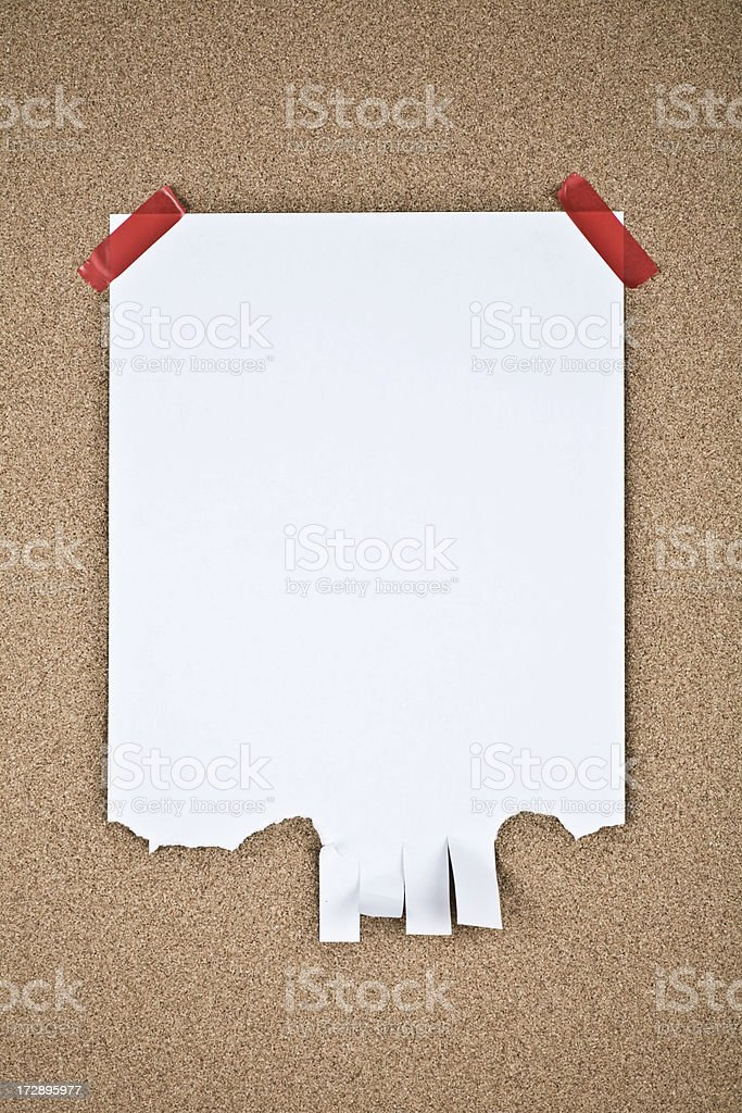 Message note royalty-free stock photo