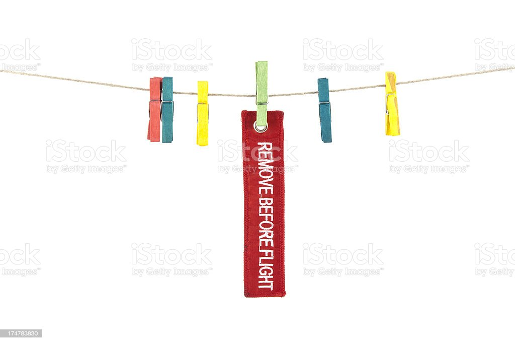 Message on clothes peg royalty-free stock photo