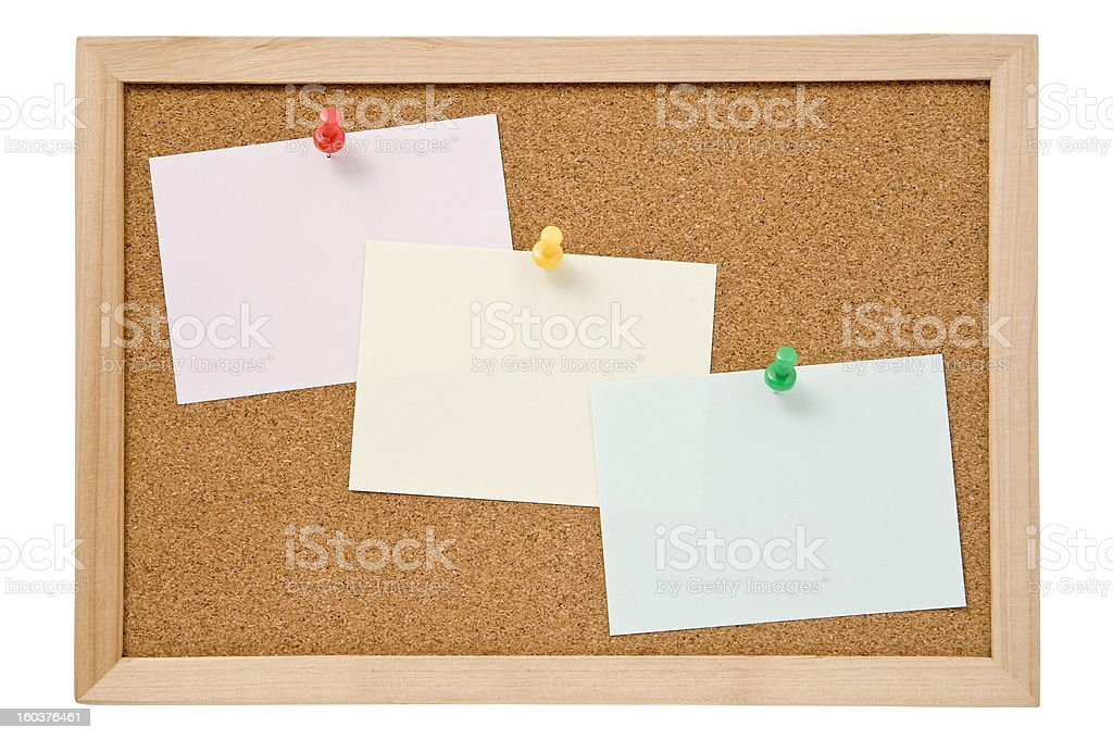 Message papers royalty-free stock photo