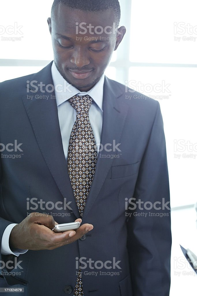 Messaging manager royalty-free stock photo