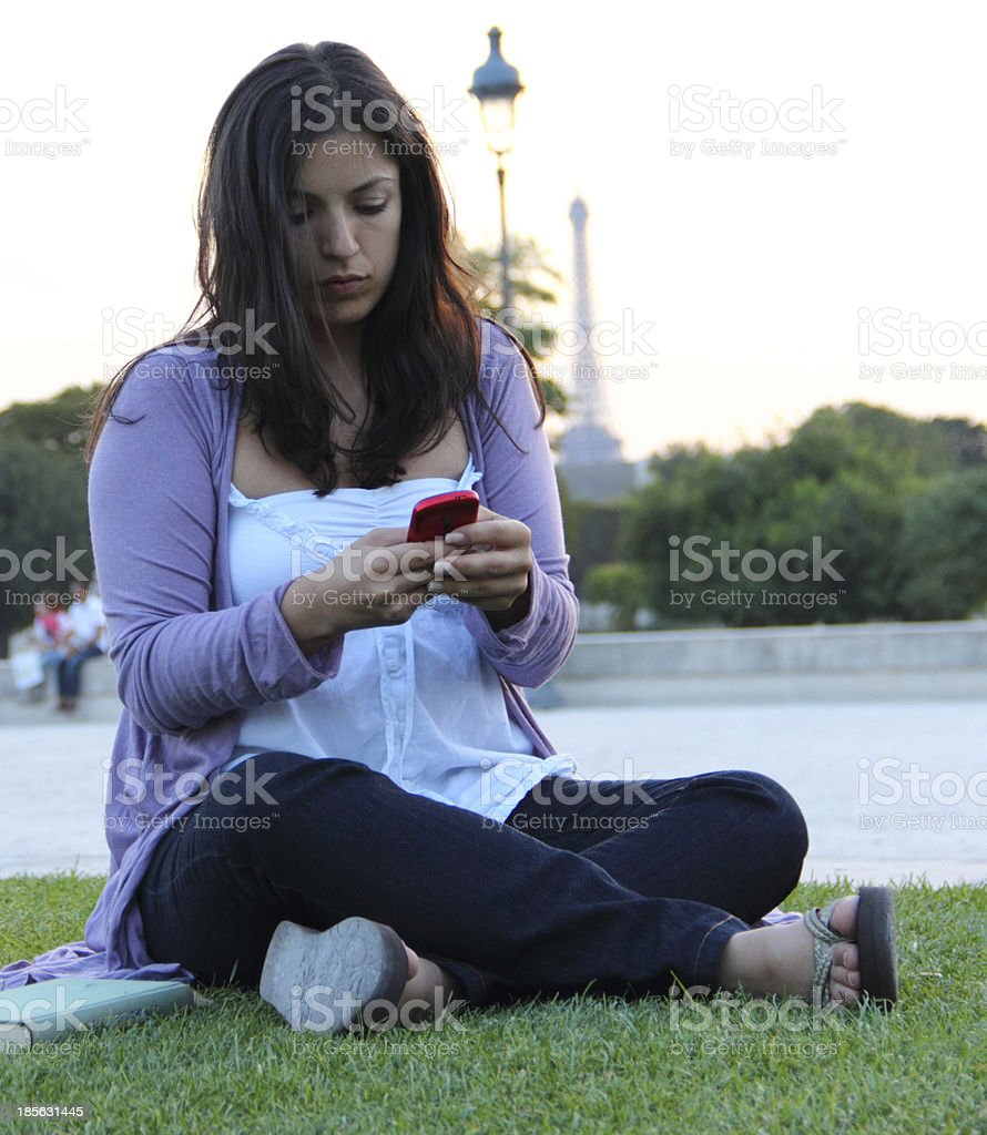 Messaging royalty-free stock photo