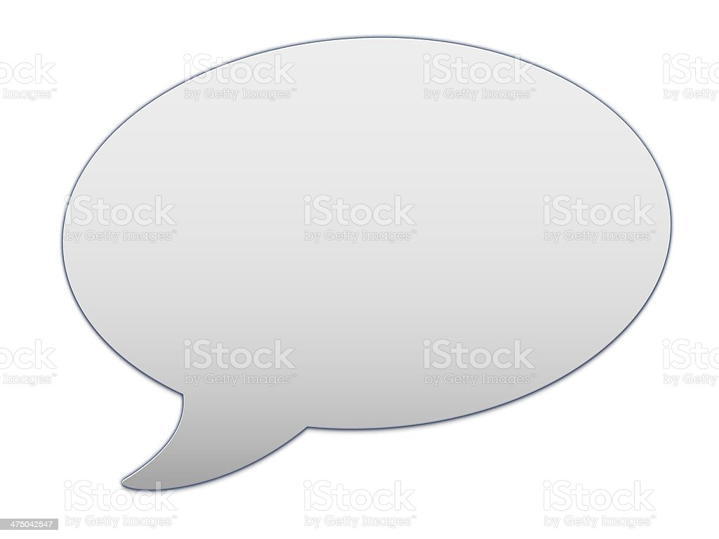 messenger window icon stock photo