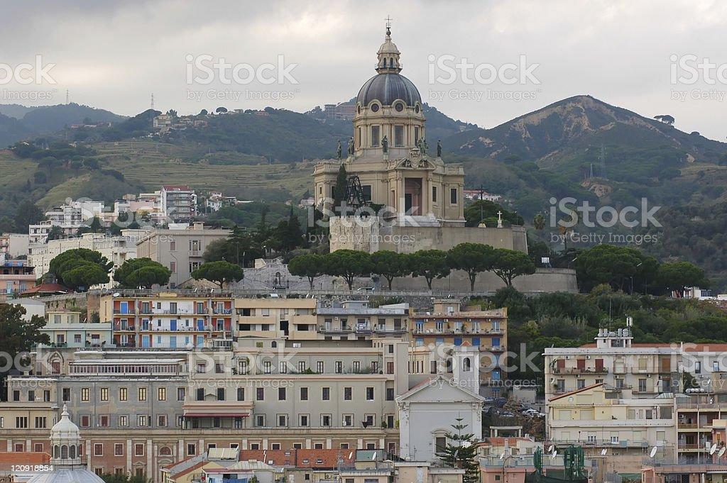 Messina Churches stock photo
