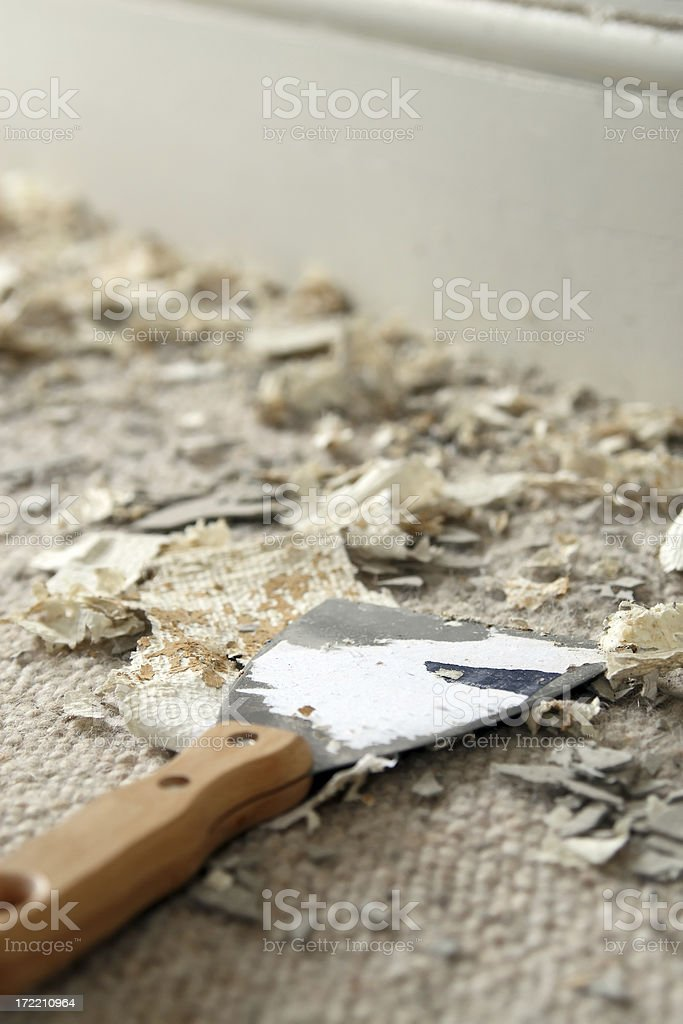 Messy home improvement royalty-free stock photo