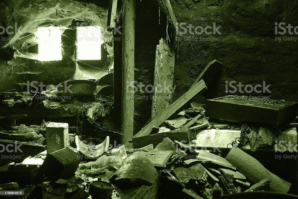 Messy house royalty-free stock photo
