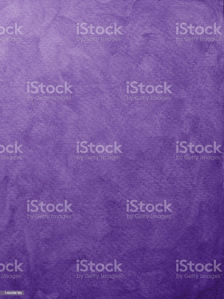 Messy painted purple background stock photo