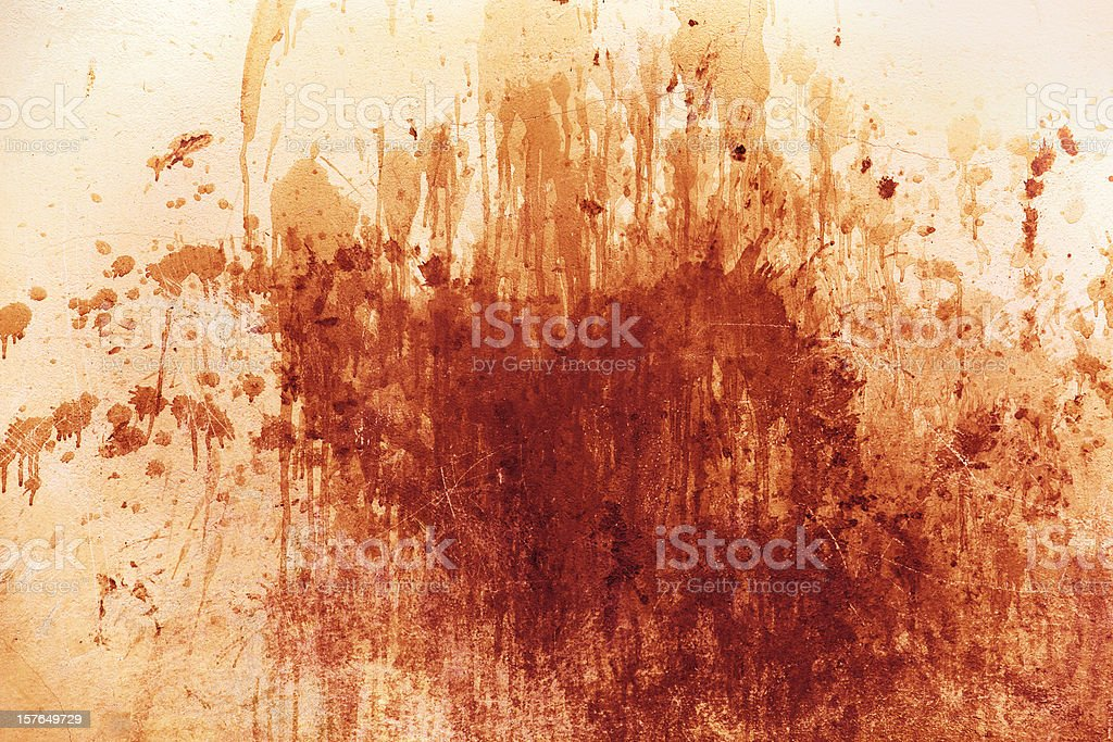 Messy splash of red royalty-free stock photo