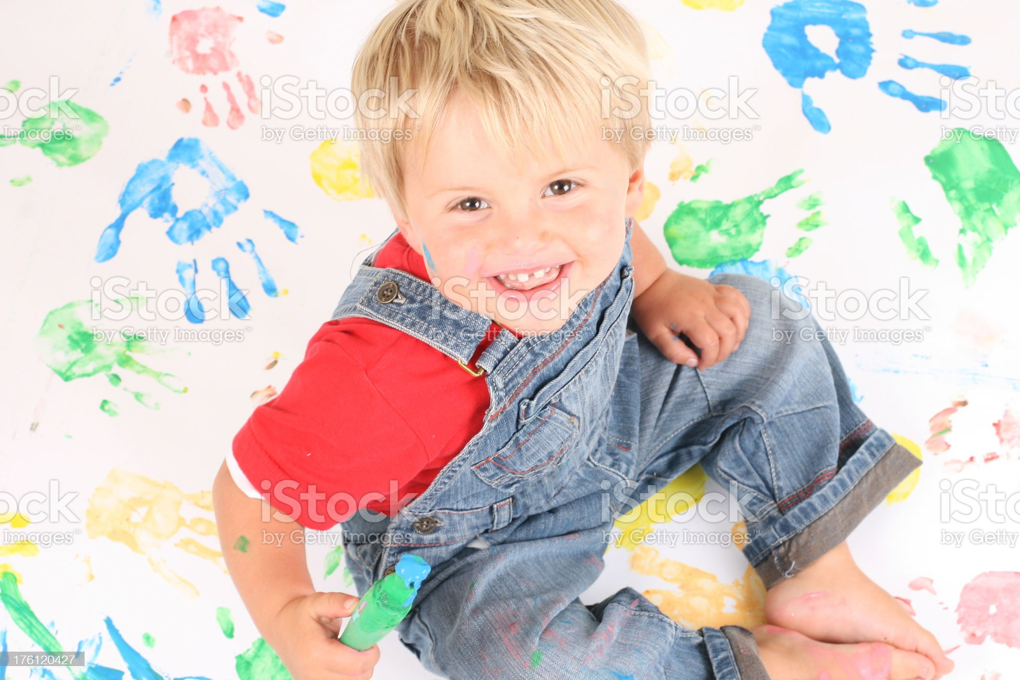 Messy Time royalty-free stock photo