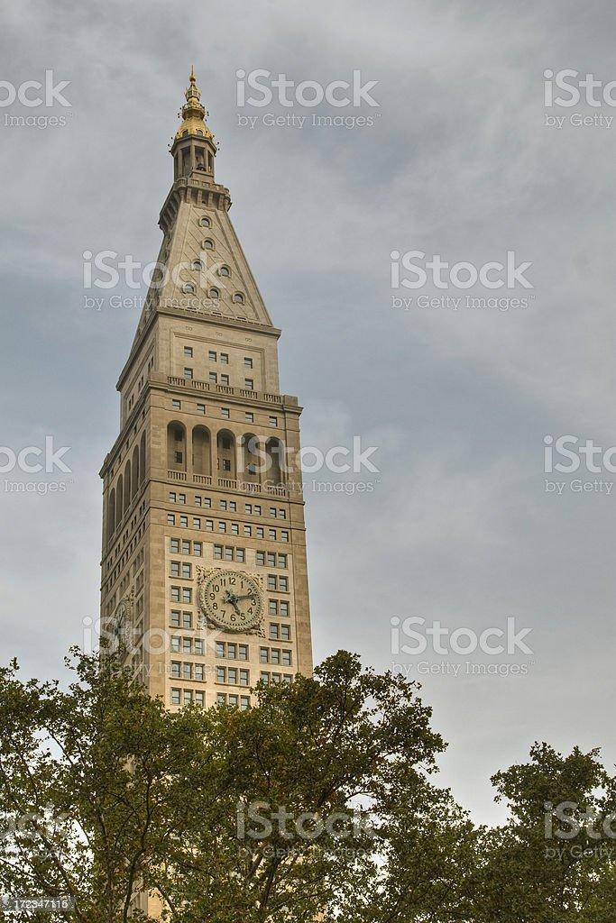 Met Life Tower stock photo