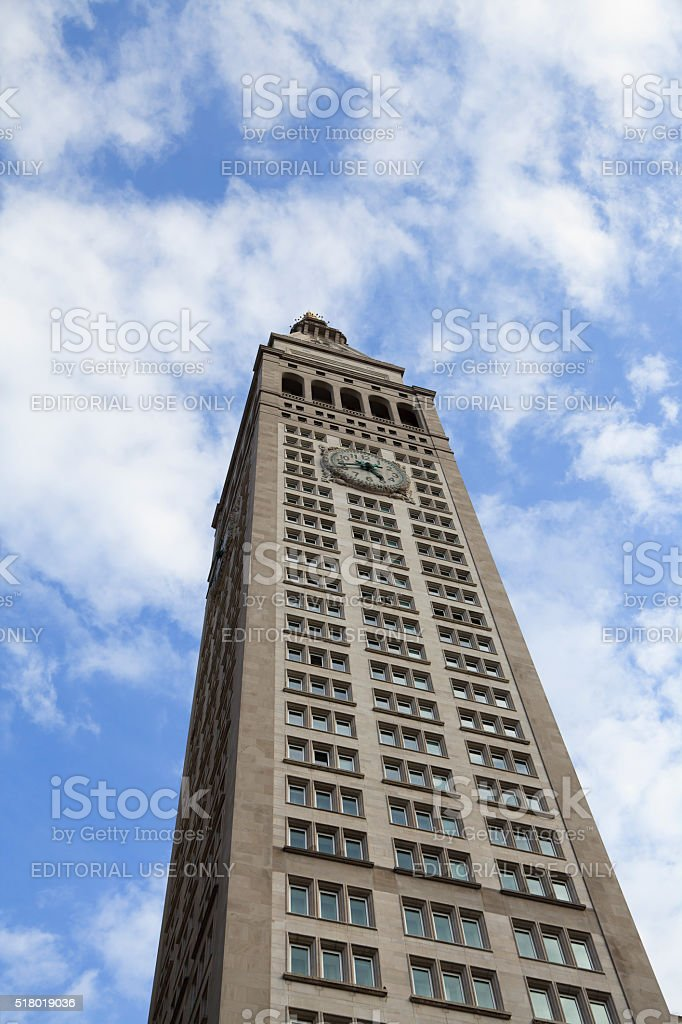 Met Life Tower stock photo