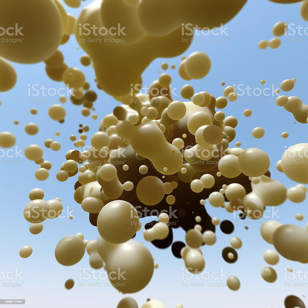 Metaball Splash stock photo