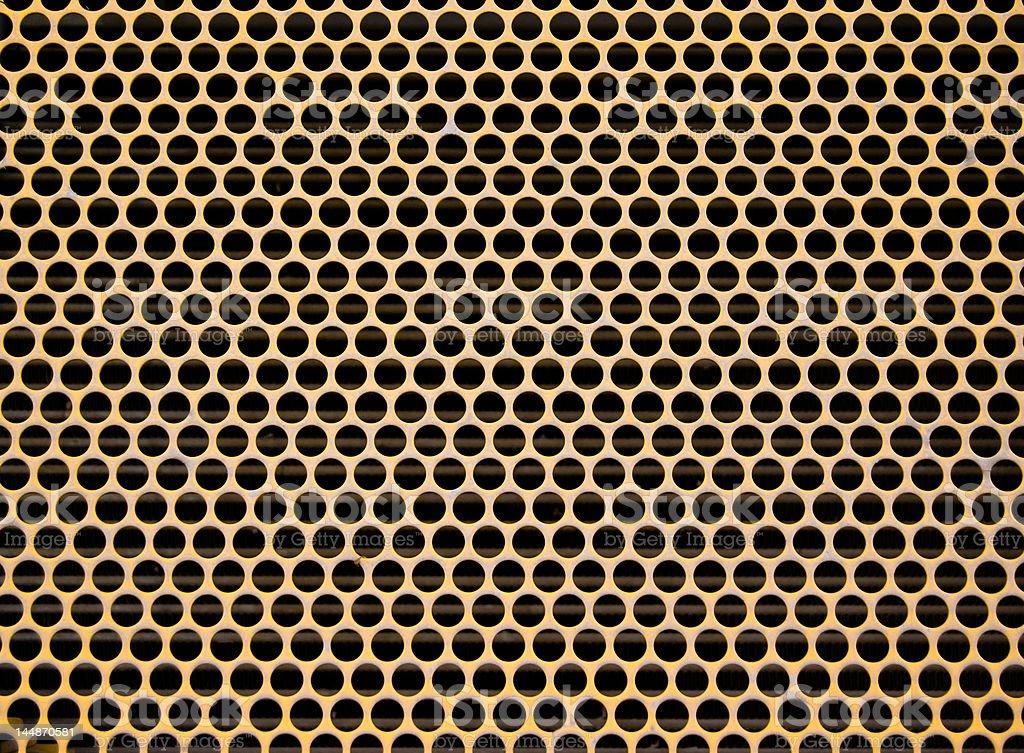 metal abstract circular grid royalty-free stock photo