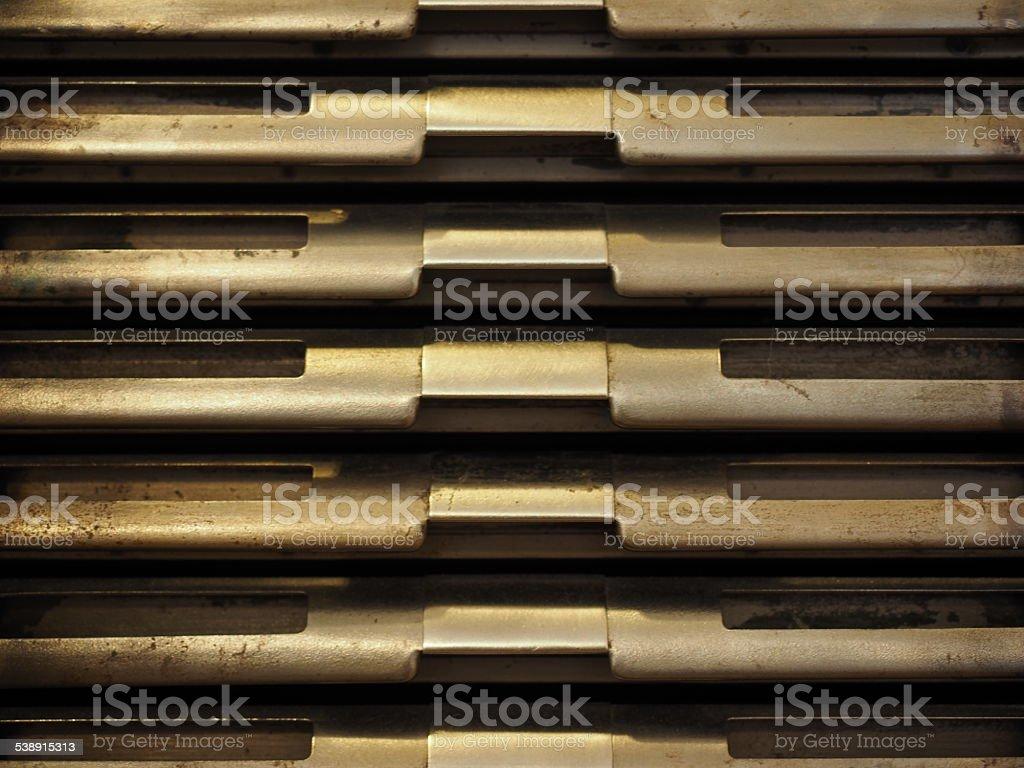 Abstrait en métal photo libre de droits