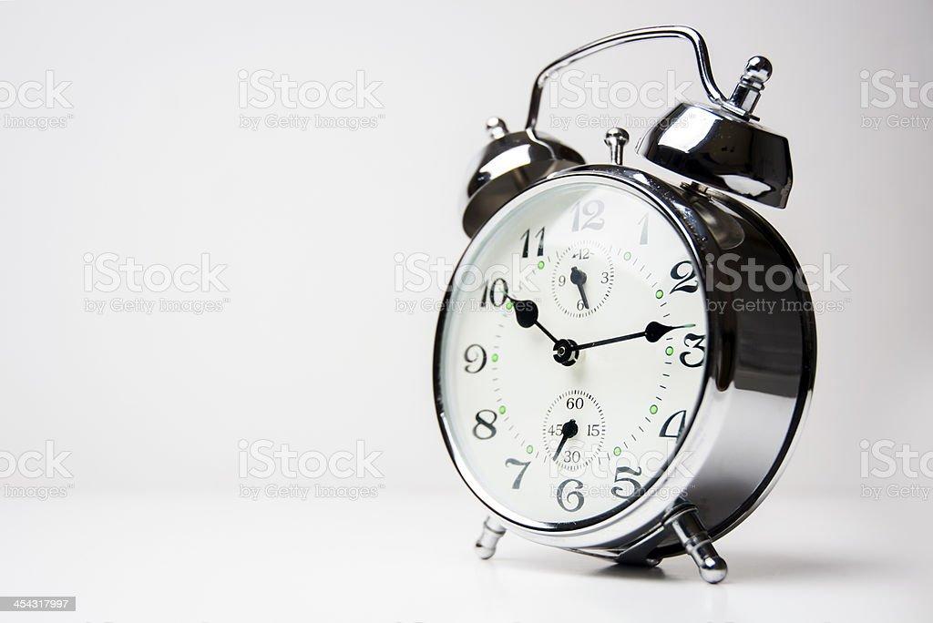 Metal Alarm Clock stock photo
