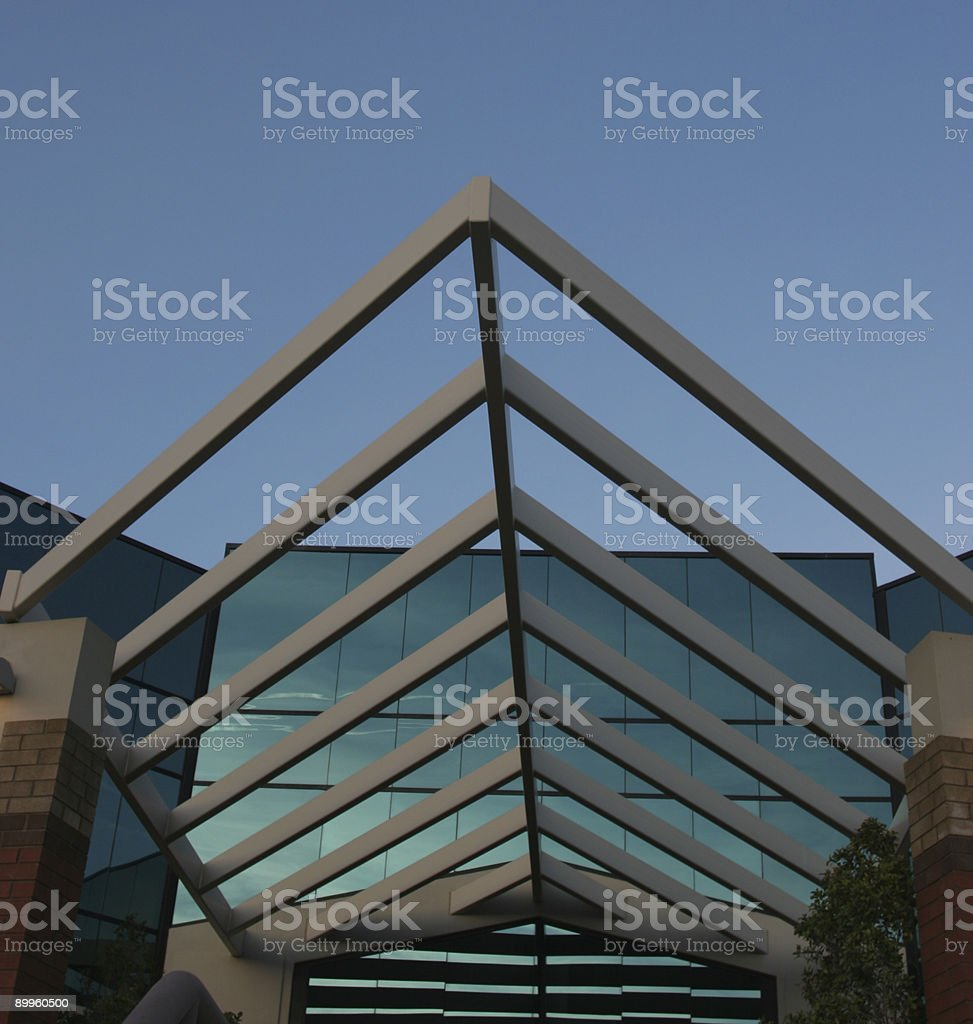 Metal Archway/Awning royalty-free stock photo