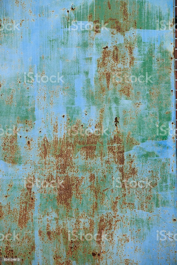 Metal background multy colored stock photo