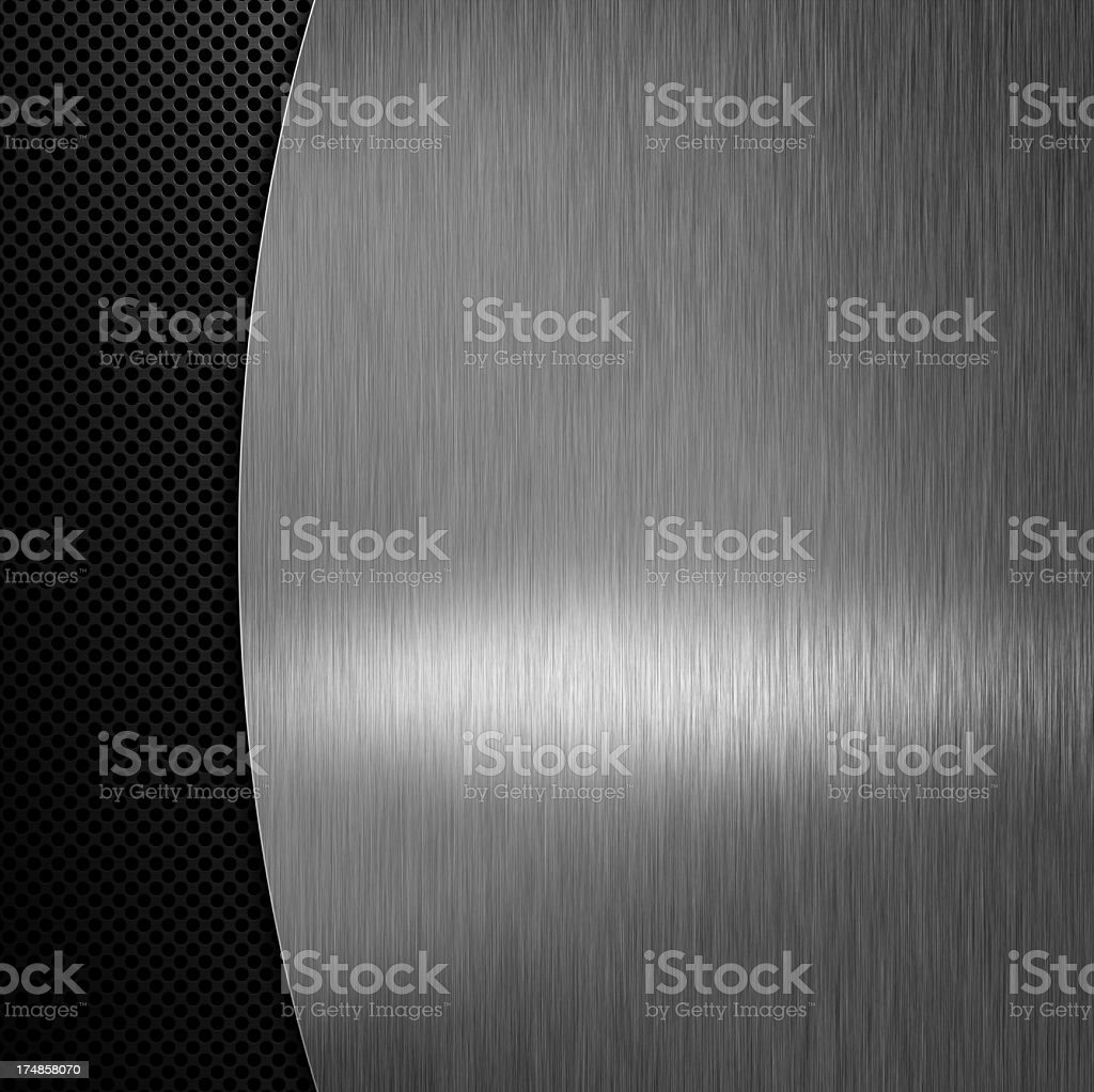 Metal background. royalty-free stock photo