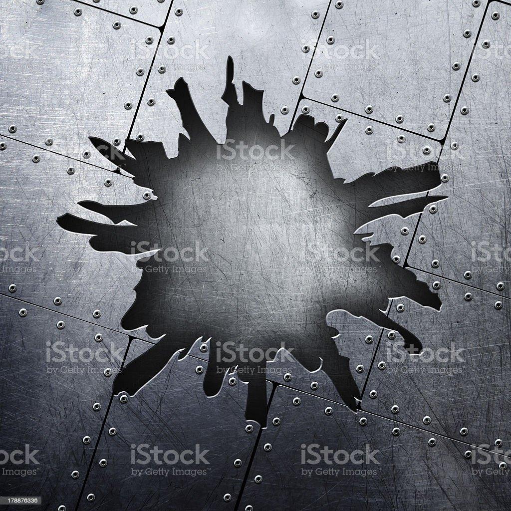 metal background royalty-free stock photo