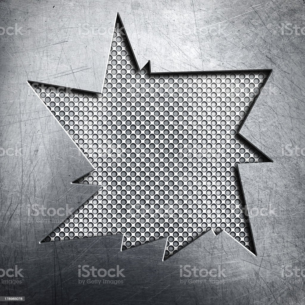 Metal background royalty-free stock photo
